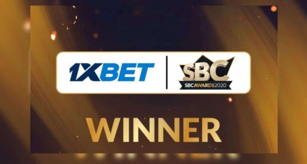 1xbet 2020 award