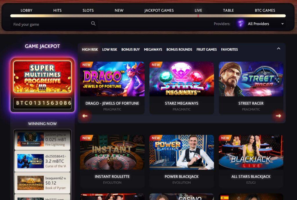7bit casino live dealer