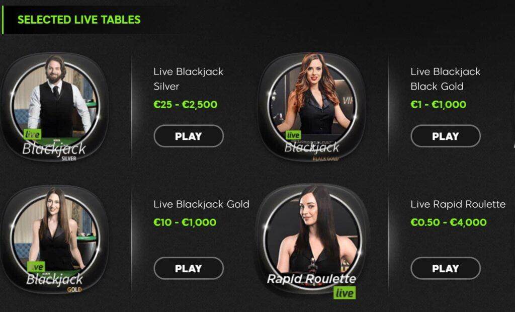 888casino live tables