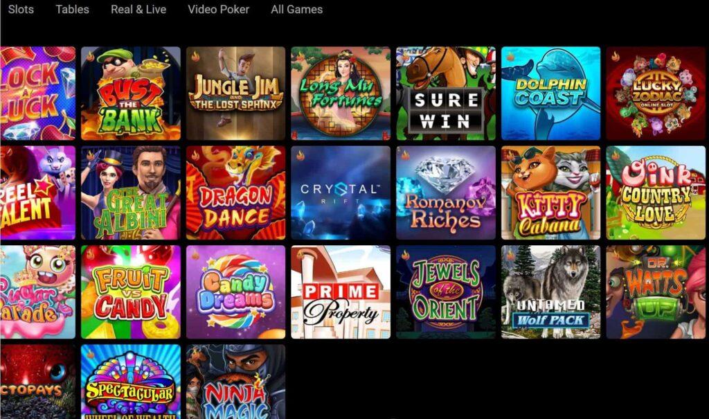 Spin online casino