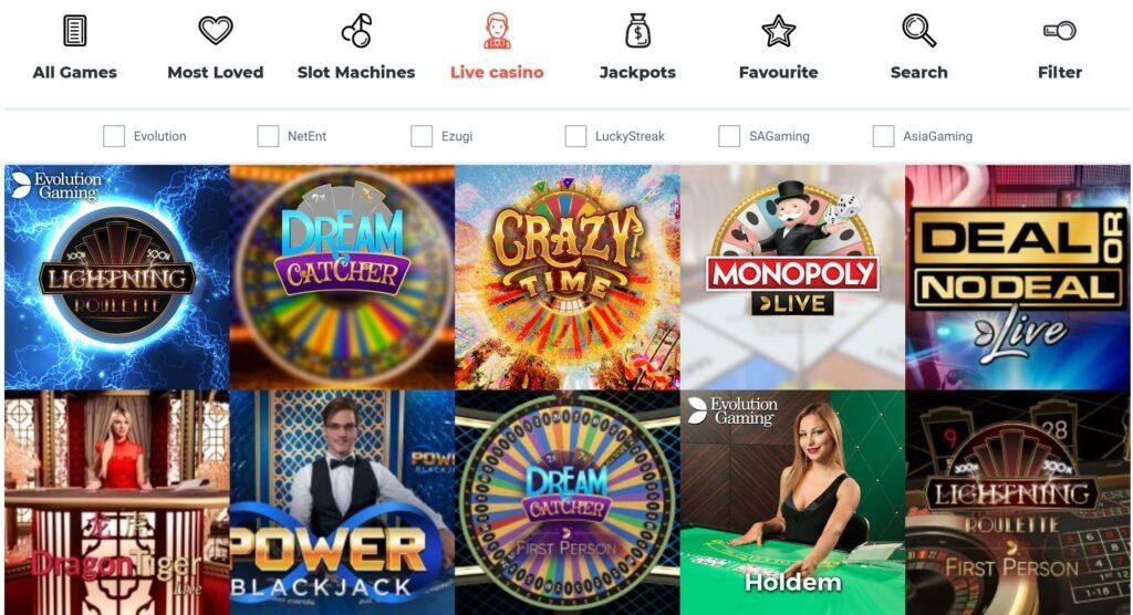 betitall live casino