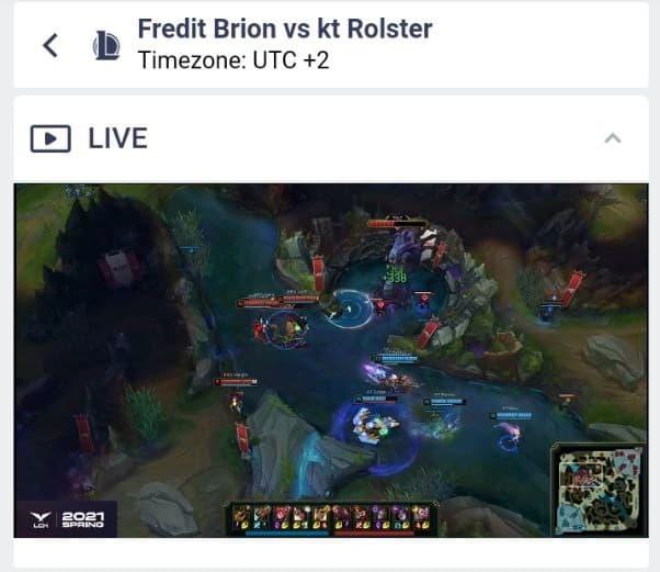 cyberbet live stream 1