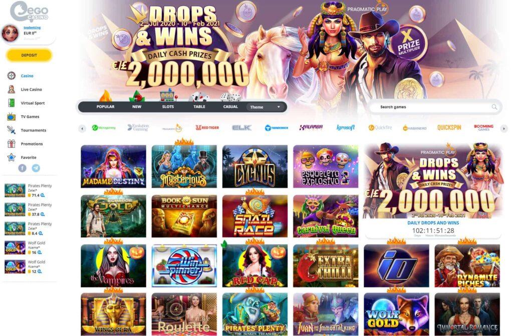 ego casino site