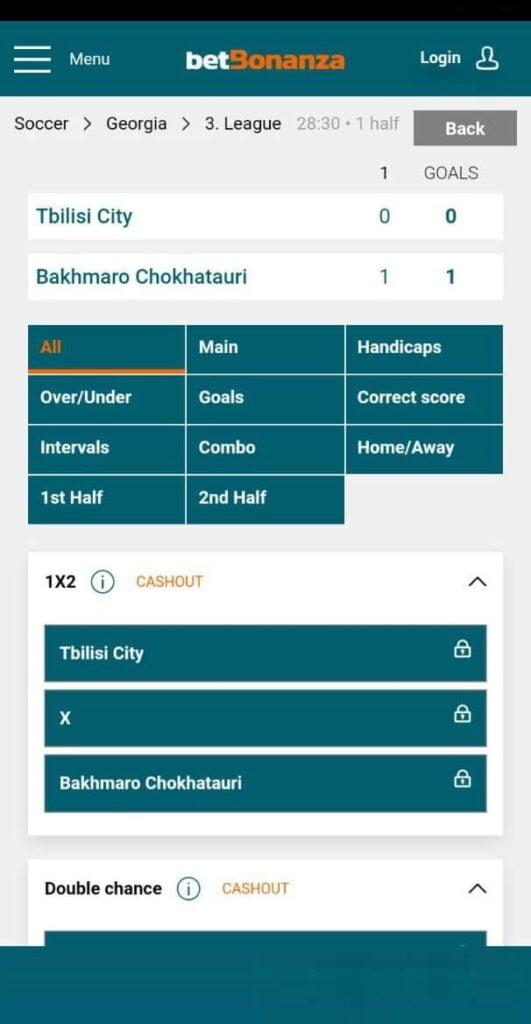 betbonanza mobile betting