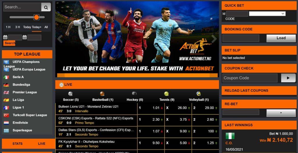 actionbet desktop site